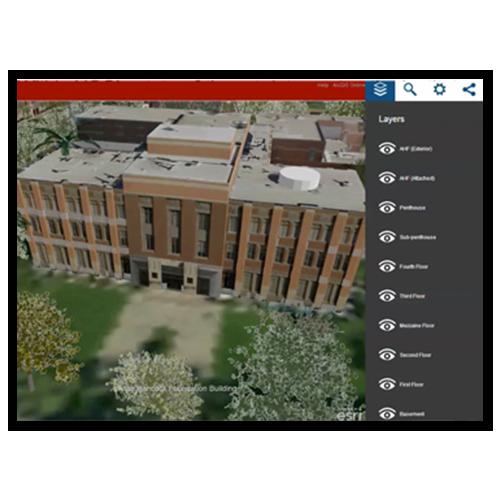 Visualizing a University Campus in Esri's CityEngine™